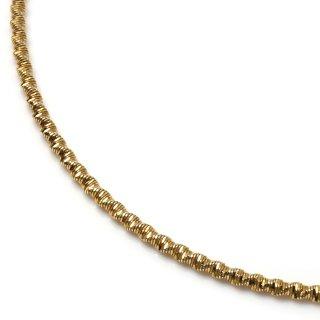 10K イエローゴールド ネックレス 41cm〜51cm