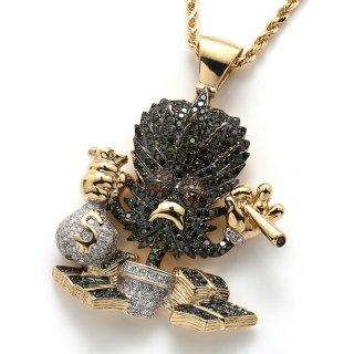 ダイヤモンド 10K イエローゴールド ペンダントヘッド ※こちらの商品は海外取り寄せ商品の為3〜4週間前後の期間を頂きます