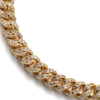10K イエローゴールド ネックレス 56cm