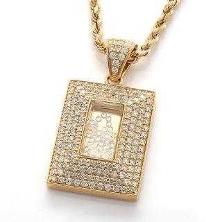 ダイヤモンド 10K イエローゴールド ペンダントヘッド