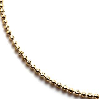 イエローゴールドネックレス 46cm〜51cm