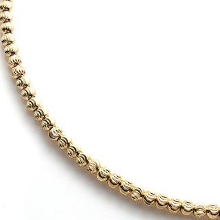 イエローゴールドネックレス 51cm〜61cm
