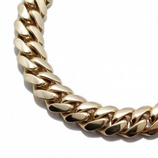 10K イエローゴールド ネックレス 52cm〜62cm