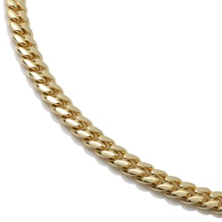 10K イエローゴールド ネックレス 40cm〜50cm