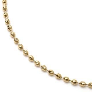 10K イエローゴールド ネックレス 45cm〜50cm