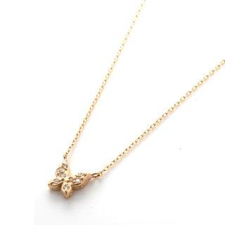 ダイヤモンド 10K イエローゴールド ネックレスセット