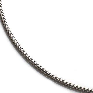 シルバー ネックレス 幅1.5mm 41cm〜51cm