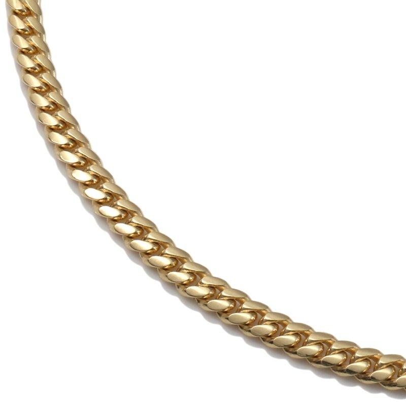10K イエローゴールド ネックレス 46cm〜61cm