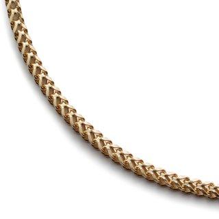 10K イエローゴールド ネックレス 45cm〜60cm