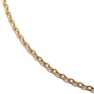 10K イエローゴールド ネックレス 40cm〜60cm