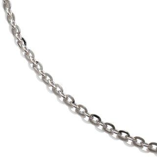 10K ホワイトゴールド ネックレス 45cm〜60cm