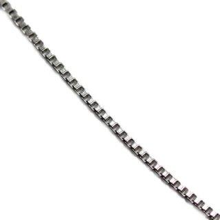 10K ホワイトゴールド ネックレス 40cm,45cm