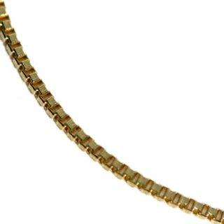 10K イエローゴールド ネックレス 40cm