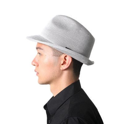 SILK KNIT TRILBY HAT