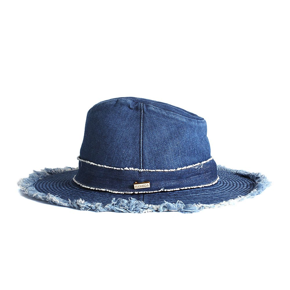 【LADY'S】DENIM HAT 詳細画像2