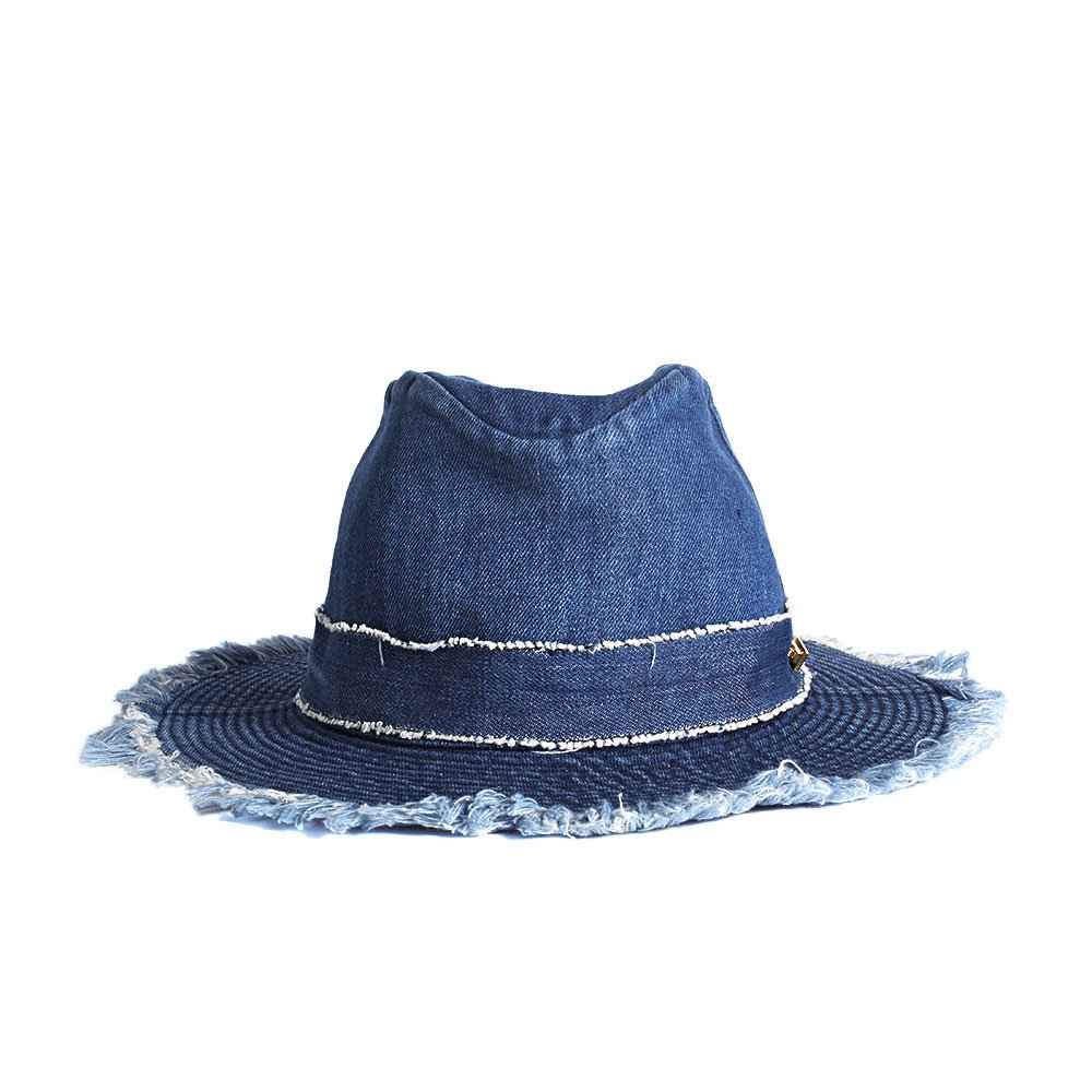 【LADY'S】DENIM HAT 詳細画像3