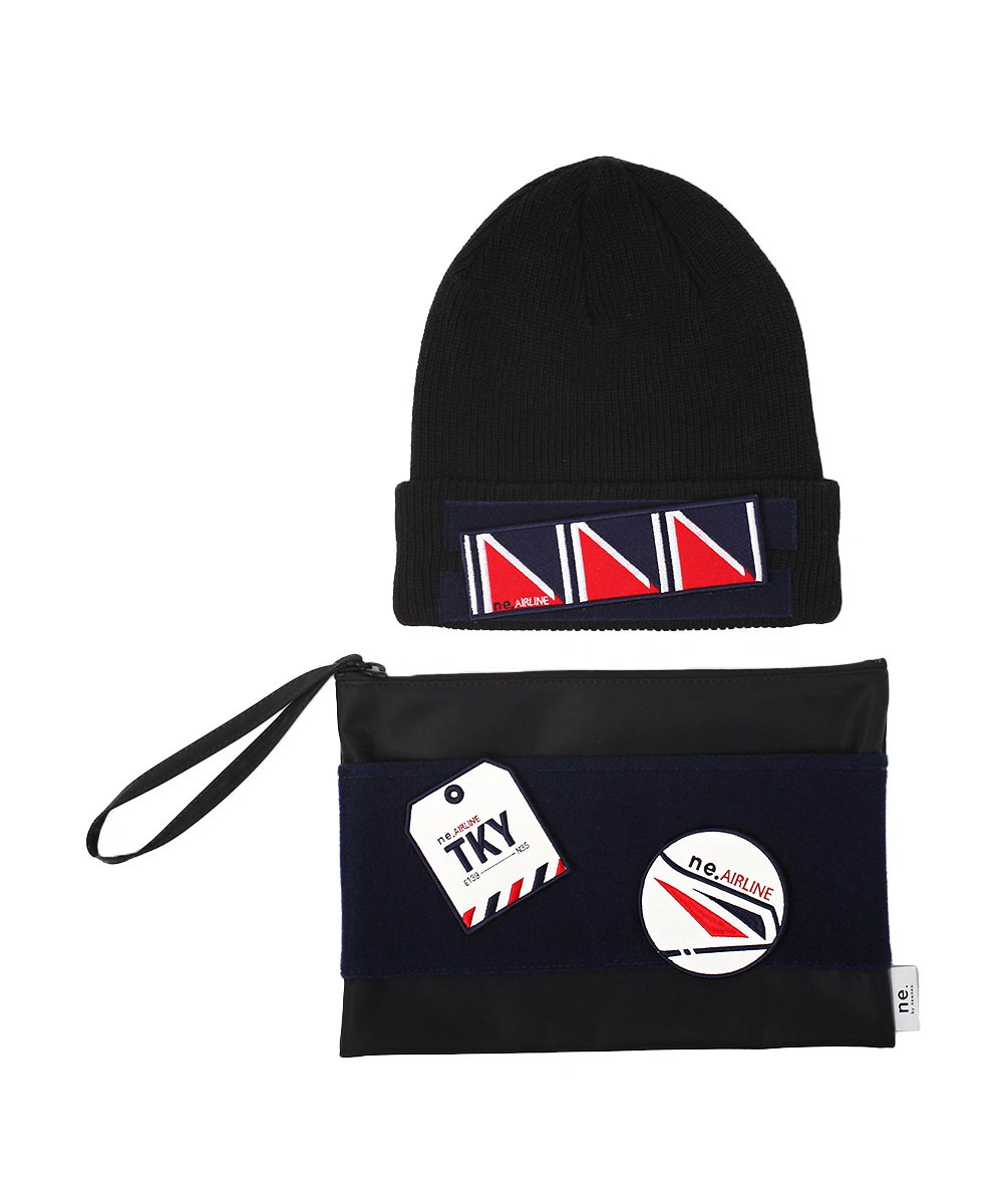 ne by NEWNEU × Rohw  KNIT WATCH × CLUTCH BAG