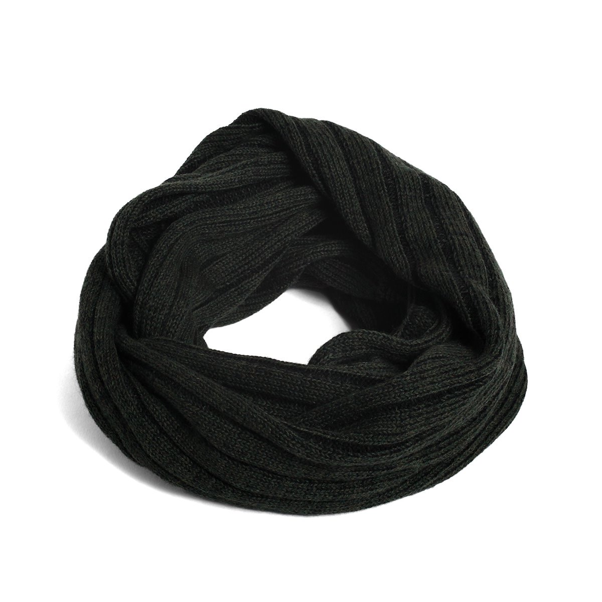 WOOL RIB TWIST SNOOD