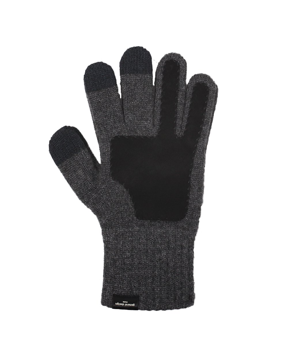 CASHMERE x LEATHER TOUCHPANEL GLOVE 詳細画像3