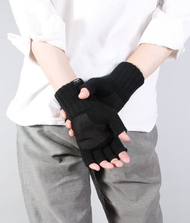 CASHMERE FINGERLESS GLOVE 詳細画像8