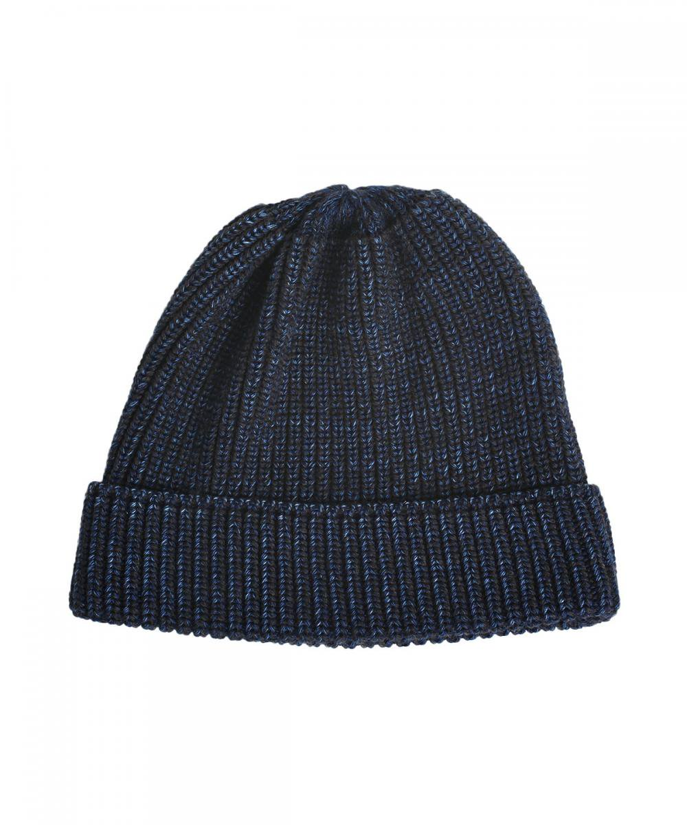 INDIGO WOOL WATCH CAP 詳細画像2