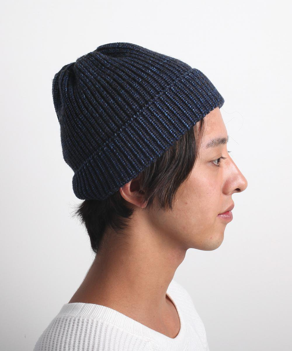 【SALE】INDIGO WOOL WATCH CAP 詳細画像4