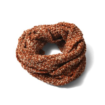 CHENILLE YARN TWIST NECKWARMER