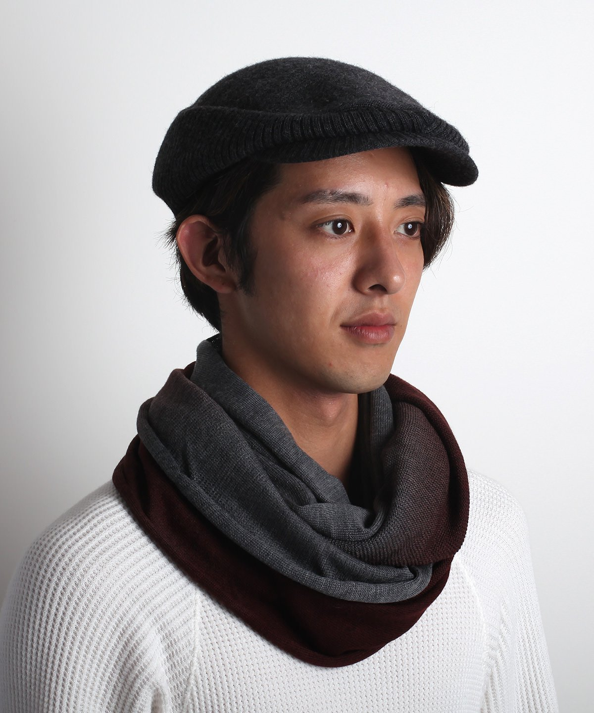 GRADATION TWIST NECKWARMER 詳細画像8