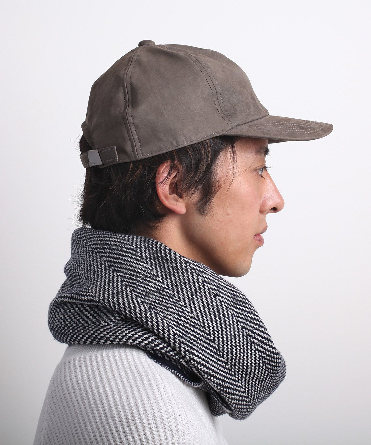HERRINGBONE TWIST NECKWARMER 詳細画像6
