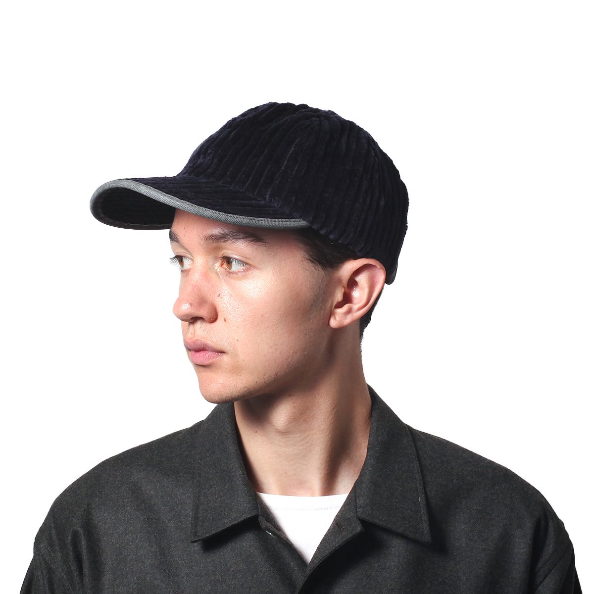 LEATHER COMBI CORDUROY 8PANEL CAP 詳細画像9