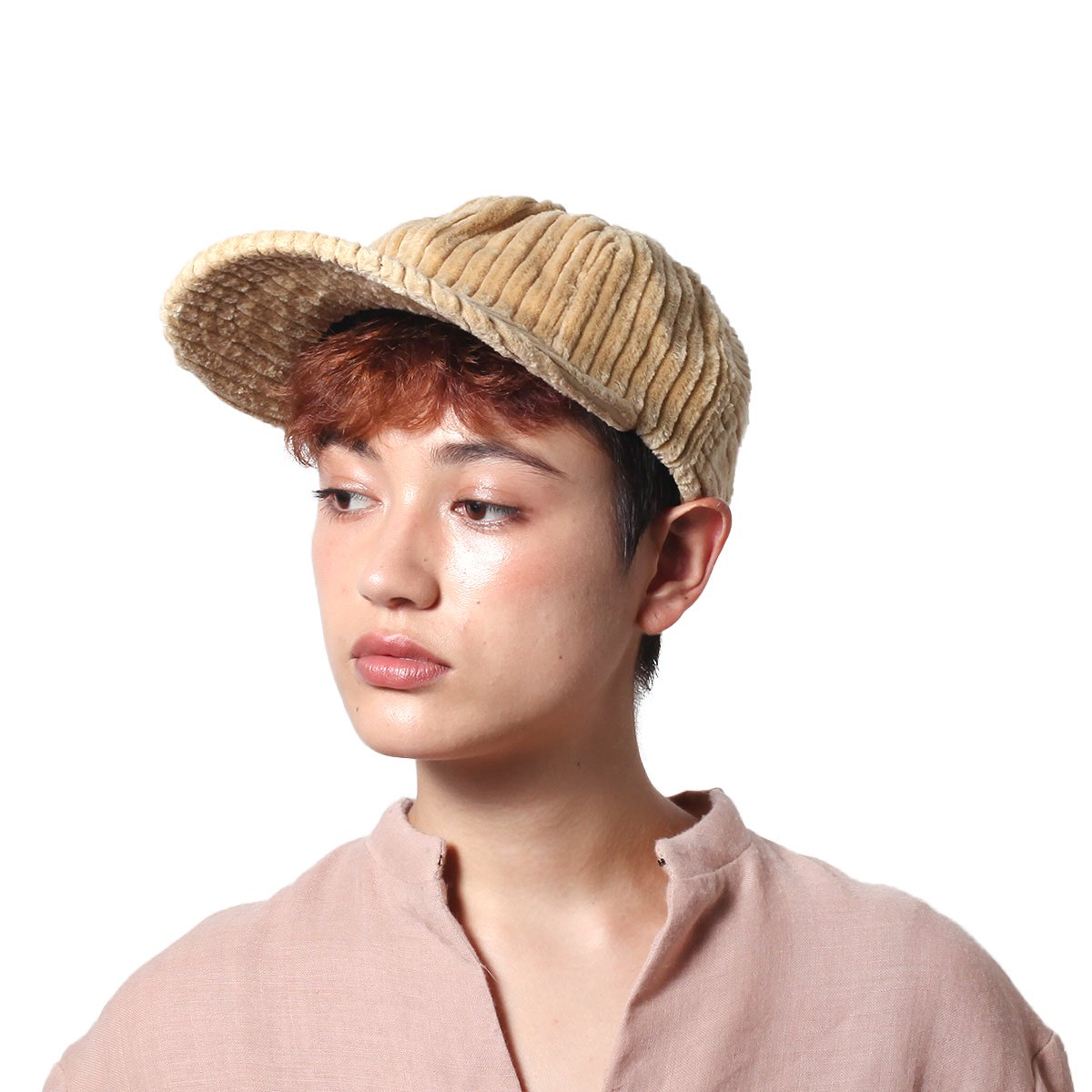 WIDE CORDUROY 8PANEL CAP 詳細画像11