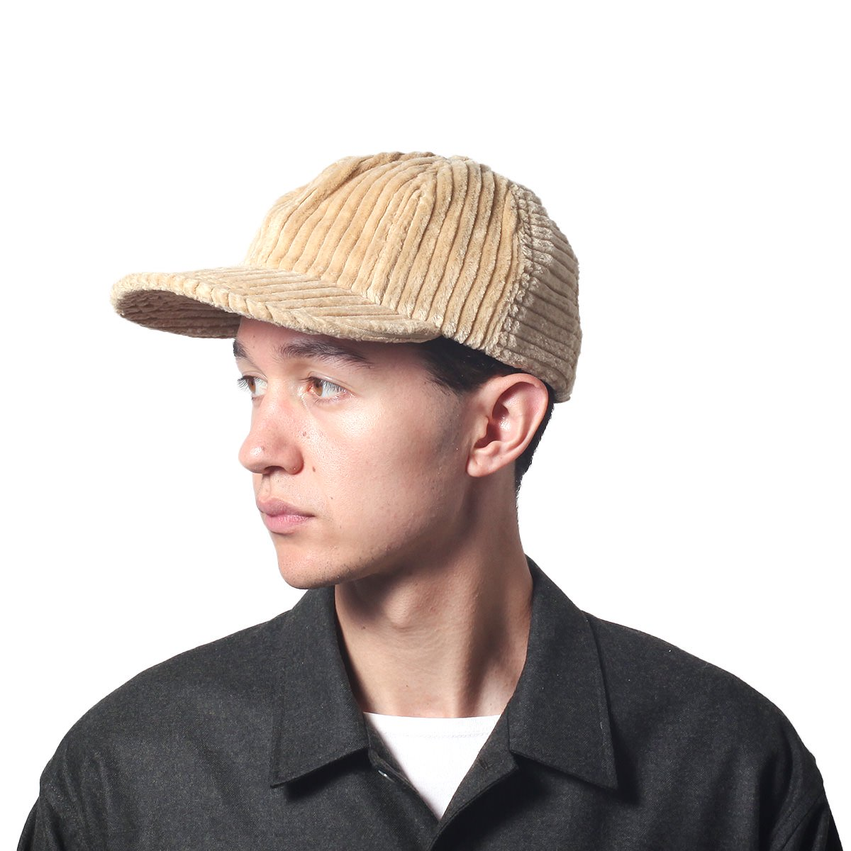 WIDE CORDUROY 8PANEL CAP 詳細画像9