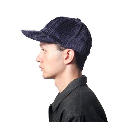 WIDE CORDUROY 8PANEL CAP