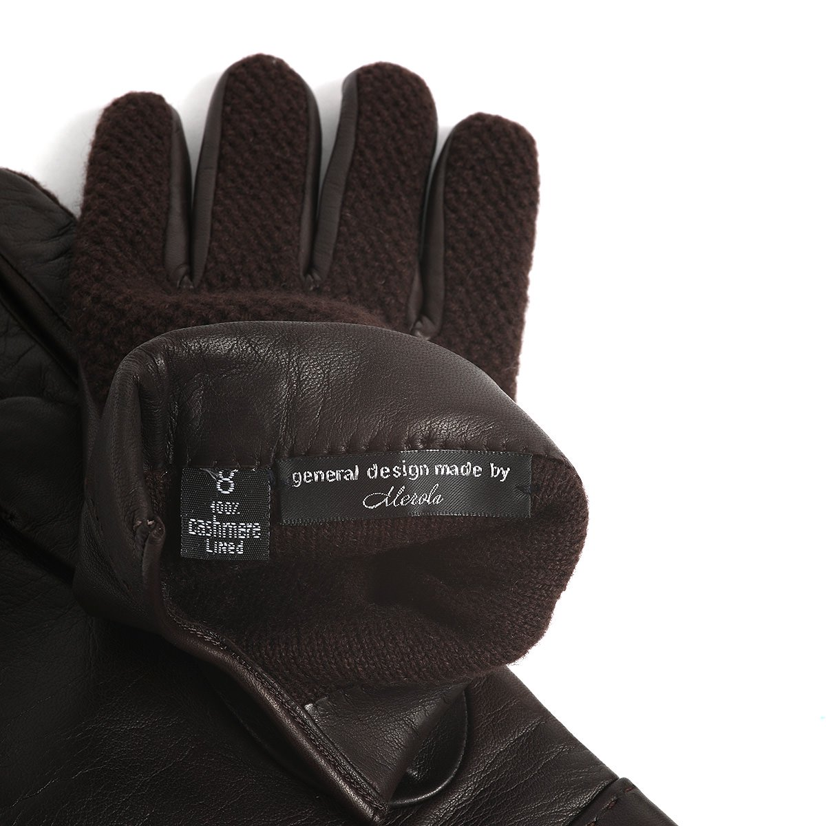 general design made by Merola PIQUExLEATHER GLOVE 詳細画像5