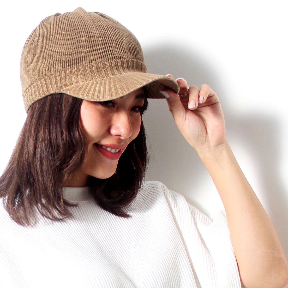 OVER-DYED BRIM KNITCAP 詳細画像9