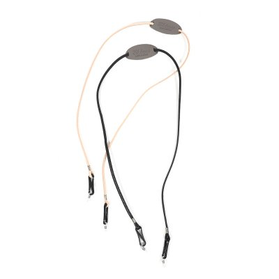 Et baas LEATHER GLASS & MASK CORD
