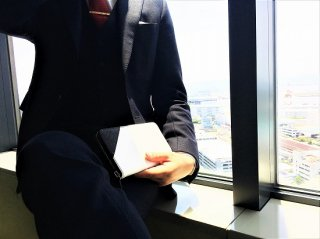 【ケイマン・ロングウォレット】 Cayman Long Wallet White