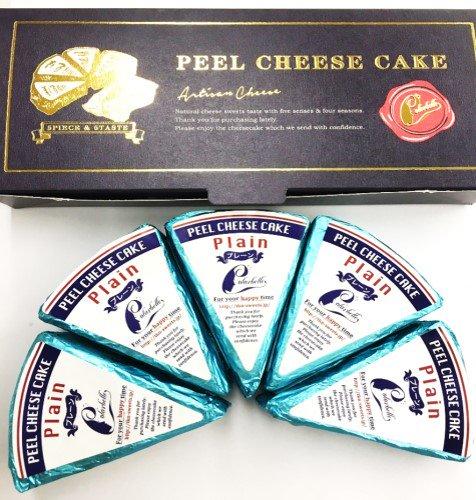 ピールチーズケーキ プレーン5個セット