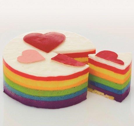 ホールチーズケーキ レインボーチーズケーキ