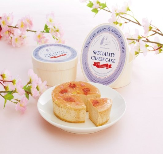 ホールチーズケーキ 桜チーズケーキ