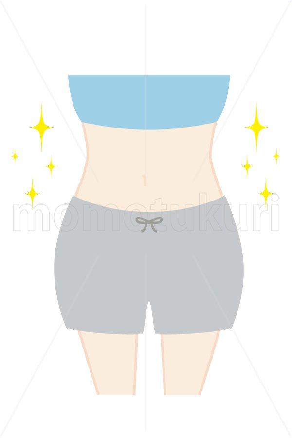 美容-痩せる ダイエット スリム (トップス:ブルー ハーフパンツ:グレー)