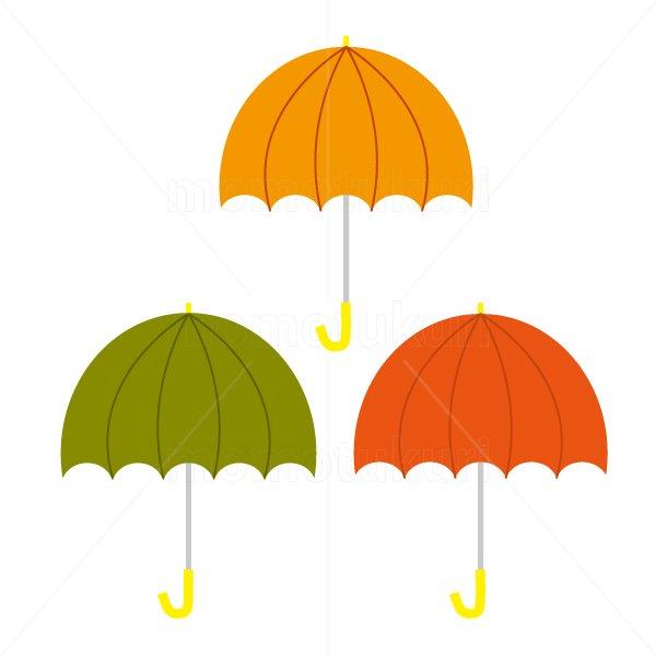 かさ(傘)3本 梅雨 5
