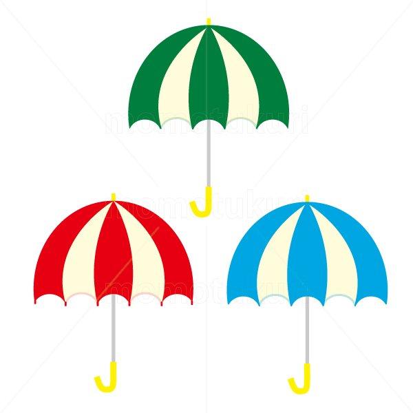 かさ(傘)3本 梅雨 7