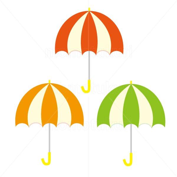 かさ(傘)3本 梅雨 8