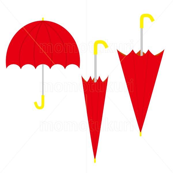 かさ(傘)3本 梅雨 9