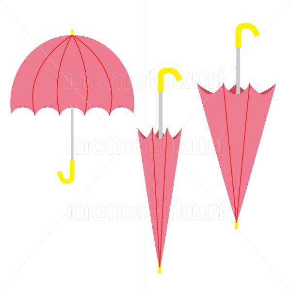 かさ(傘)3本 梅雨 16