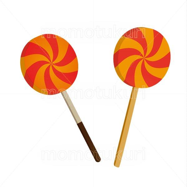 ハロウィン お菓子 キャンディ 2個