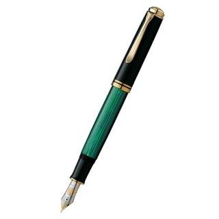 ペリカン 万年筆 スーベレーン 緑縞 M1000