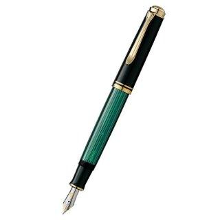 ペリカン 万年筆 スーベレーン 緑縞 M600