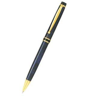 パイロット ボールペン グランセ ブラック&ブルー BG−500R−BL